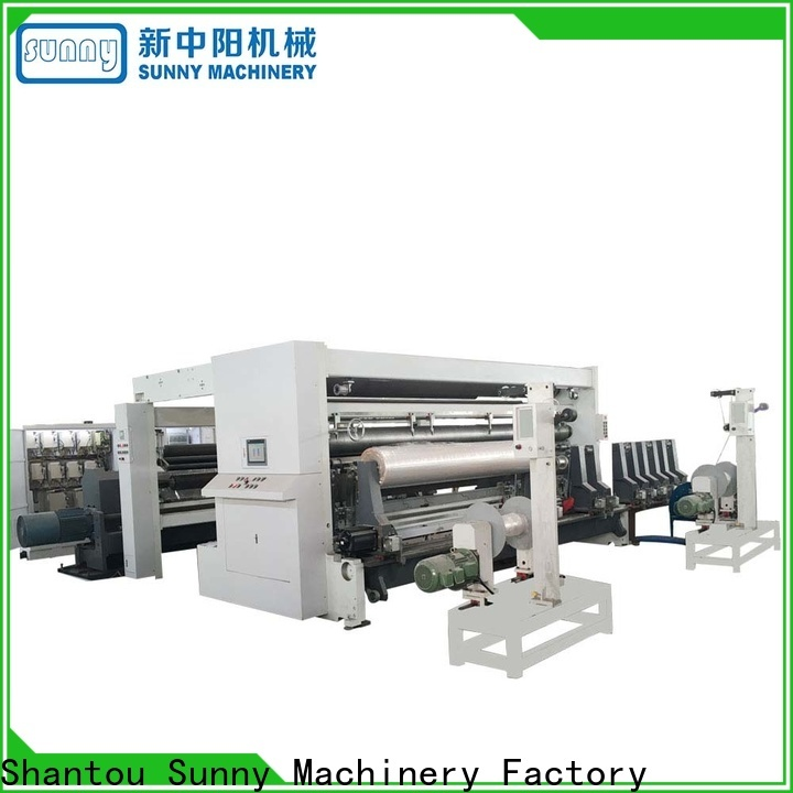 Sunny low cost rewind slitting machines wholesale for production