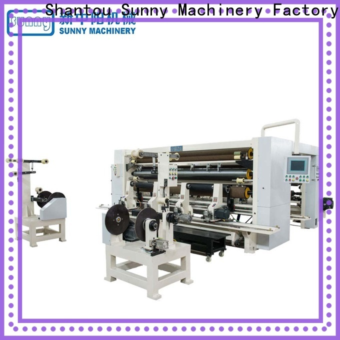 Sunny quality slitting and rewinding machine customized at discount