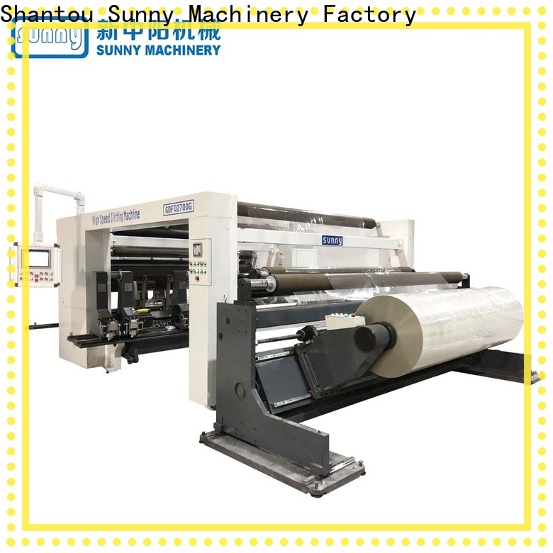 Sunny low cost slitting rewinding machine supplier at discount