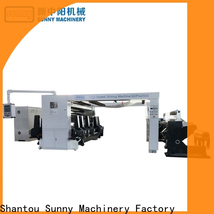 jumbo rewind slitting machines stations customized for factory