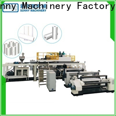 Sunny tdie extruder lamination machine manufacturer for production