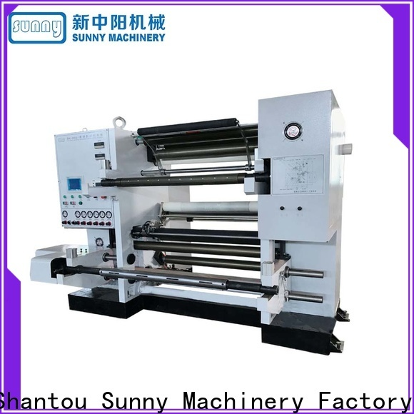 Sunny film rewinder slitter supplier bulk production