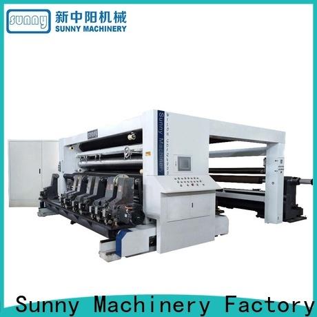 thermal rewinder slitter line supplier bulk production