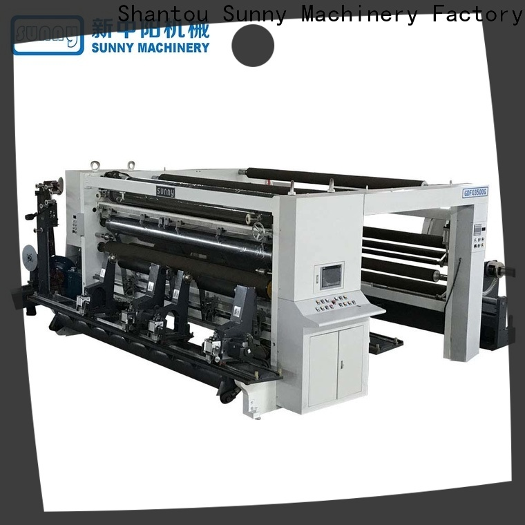 Sunny film rewind slitting machines wholesale for factory