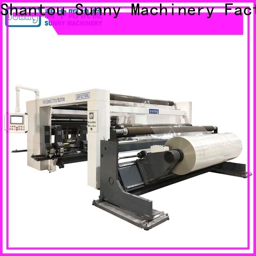 Sunny digital rewind slitting machines manufacturer bulk production