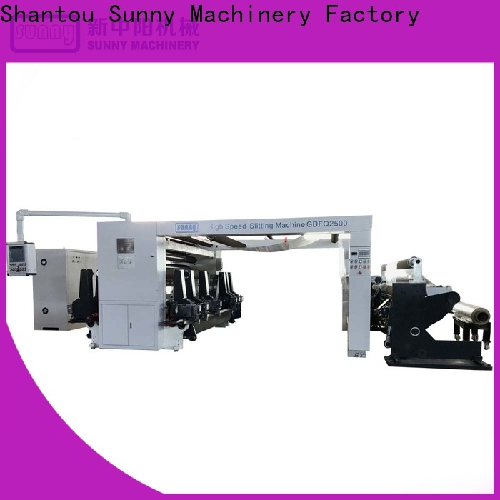 Sunny film rewinder slitter supplier for sale