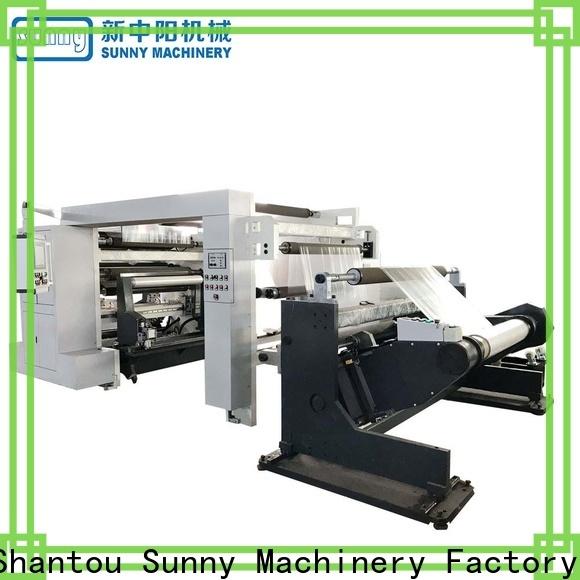 Sunny rewinder slitting machines manufacturer for sale