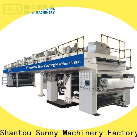 Sunny single extrusion coating lamination plant manufacturer for protection film