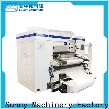 Sunny line slitting machines customized bulk production