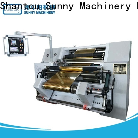 Sunny low cost rewinder slitter machine customized at discount