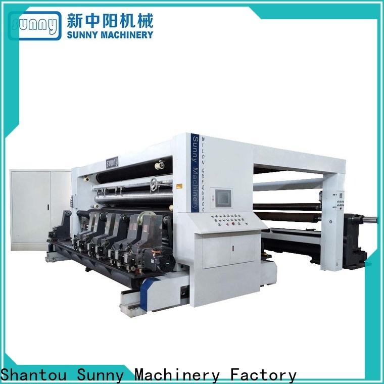 Sunny jumbo slitting machines supplier for factory