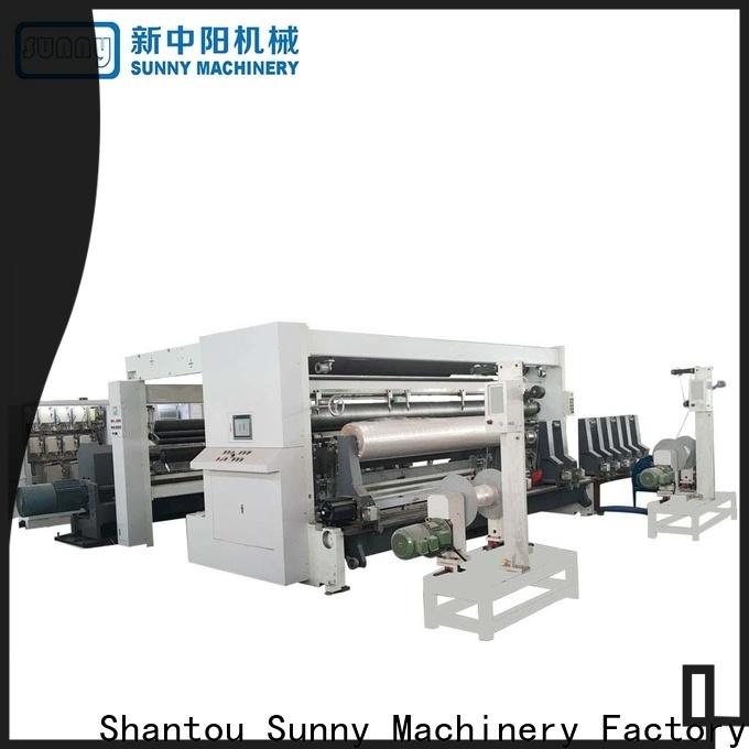 Sunny thermal rewinder slitter machine wholesale bulk production
