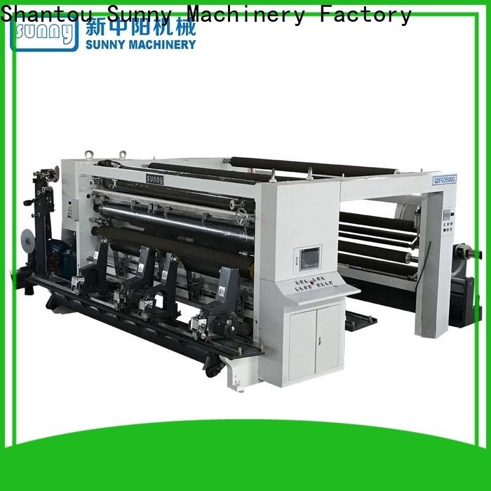 Sunny high speed rewinding machinery wholesale bulk production