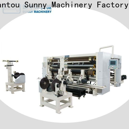 Sunny gantry slitting rewinding machine supplier bulk production