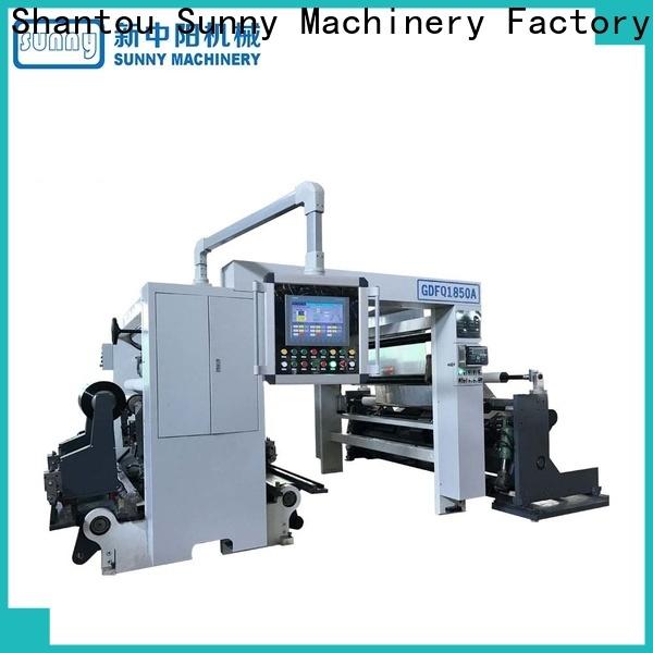 Sunny thermal slitter rewinder machine supplier bulk production