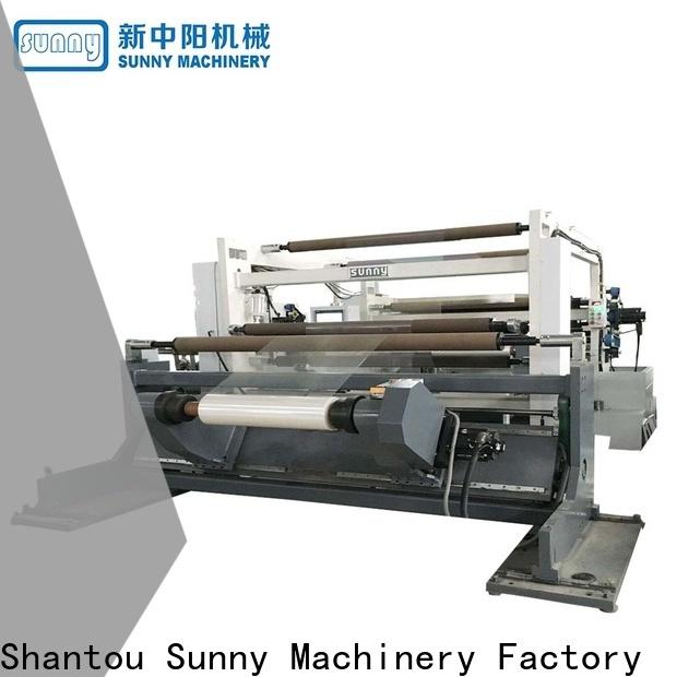 Sunny digital rewinder slitter customized bulk production