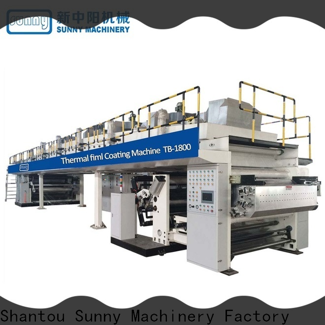 dual extrusion coating machine laminator customized for packaging