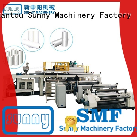 Sunny dry extrusion coating lamination machine customized for protection film