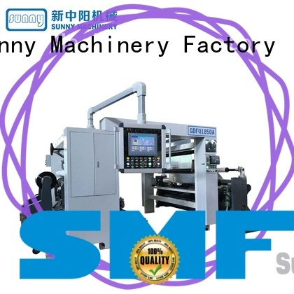 low cost rewinding machinery film supplier for production