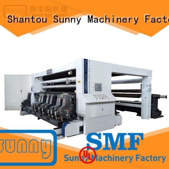 Sunny slitting rewinding machine high speed customized for factory