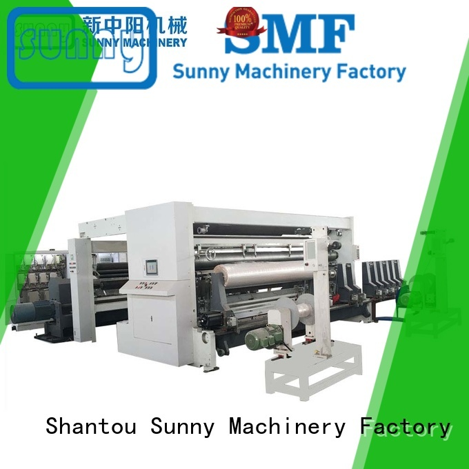 Sunny low cost rewind slitting machines customized for production
