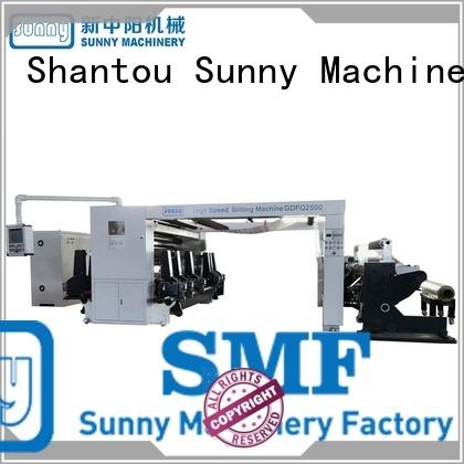High Speed Quality Digital Slitting Line Machine (4 rewind stations) model GDFQ2500