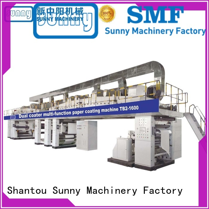 Sunny dual extrusion lamination machine customized for packaging