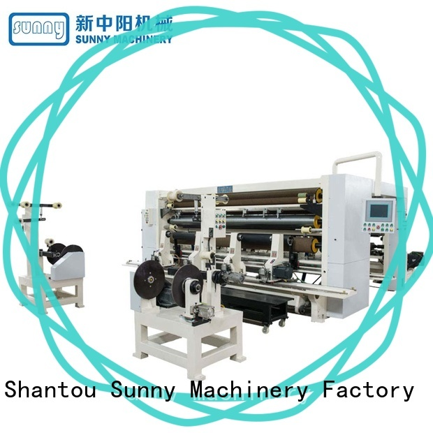 Sunny jumbo rewinding machinery manufacturer for factory