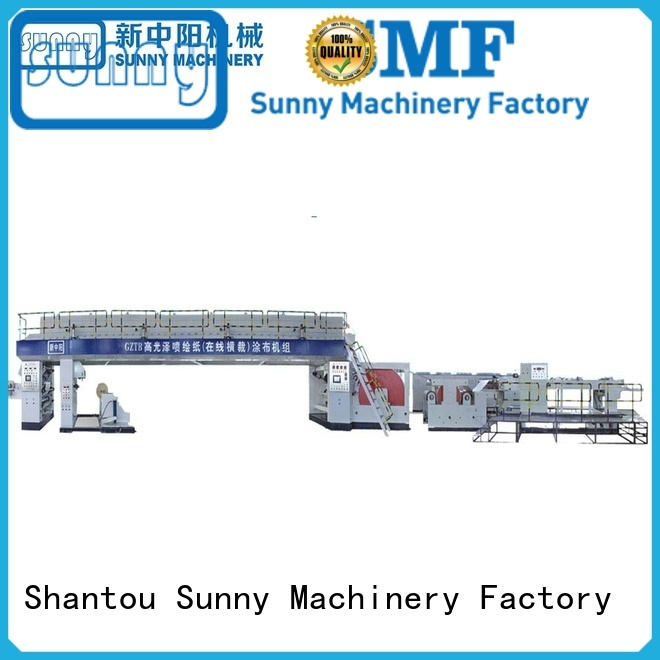Sunny dual extrusion coating lamination machine wholesale for packaging