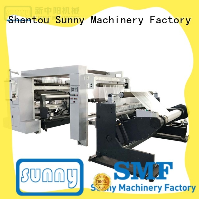 Sunny sunny rewind slitting machines supplier for sale