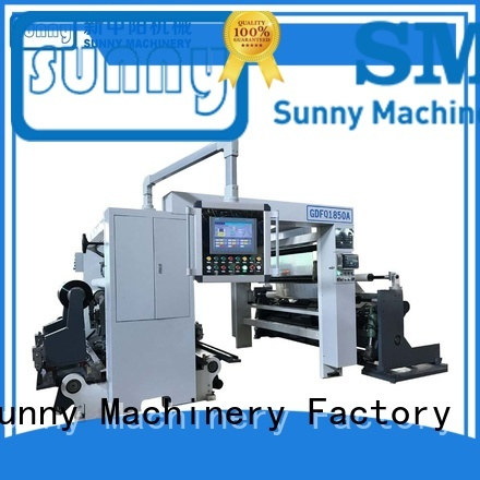 high quality slitting and rewinding machine model customized for production