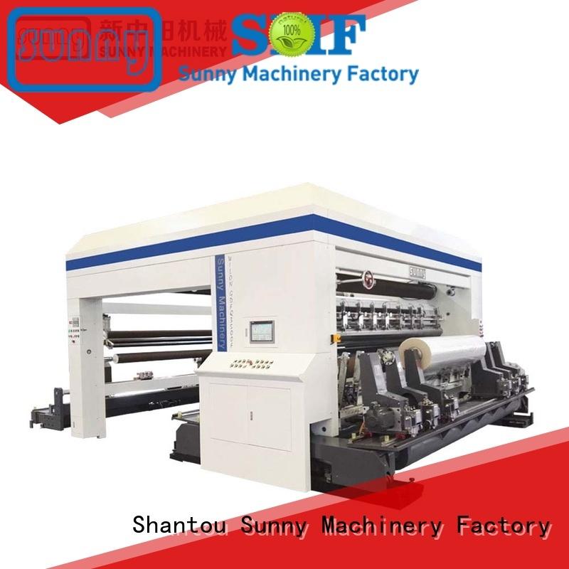 high quality rewinder slitter machine stations manufacturer bulk production