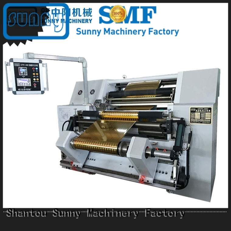 Sunny high speed slitting and rewinding machine wholesale bulk production
