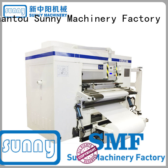 Sunny digital rewind slitting machines manufacturer for factory