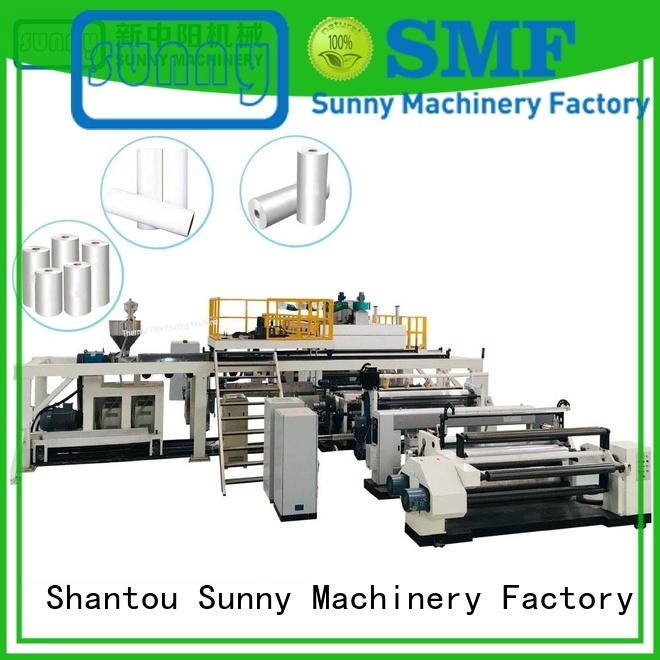 rewind pp lamination machine wholesale for industry Sunny