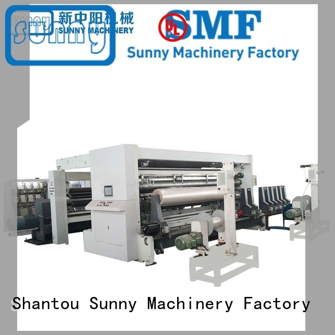 Sunny low cost rewind slitting machines manufacturer for sale