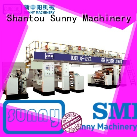 Sunny drying extrusion coating machine customized for production