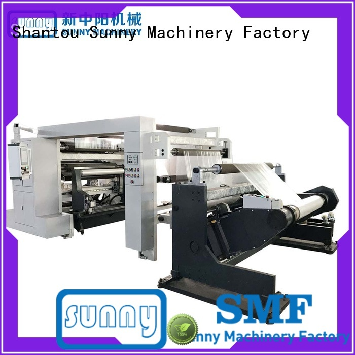 Sunny gdfq1100 rewinder slitter wholesale bulk production