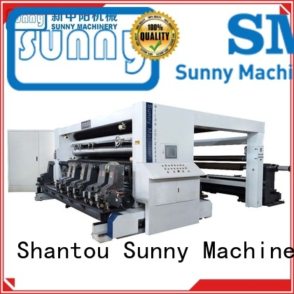 Sunny horizontal rewinder slitter machine line for sale