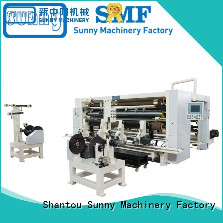 Sunny slitting machine for paper supplier for industry Sunny