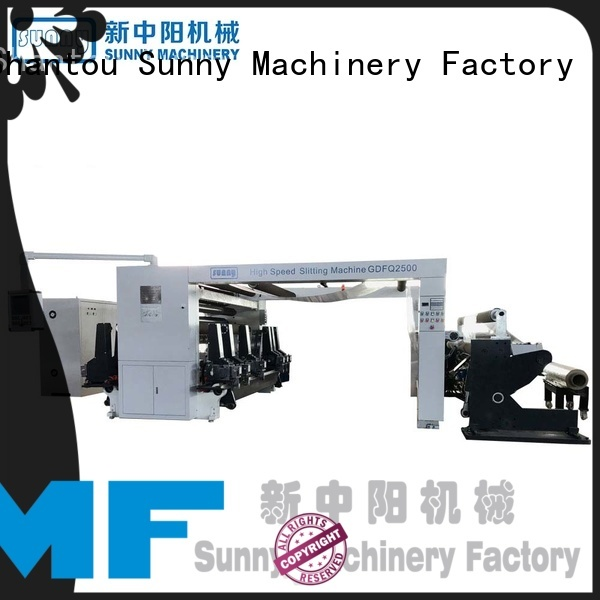 horizontal rewinder slitter machine film supplier for factory
