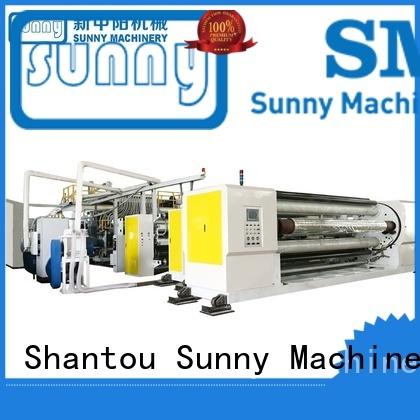 embossing casting film machine manufacturer laminating Sunny