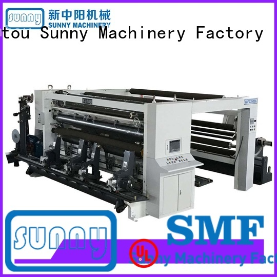 Sunny quality rewind slitting machines customized for production
