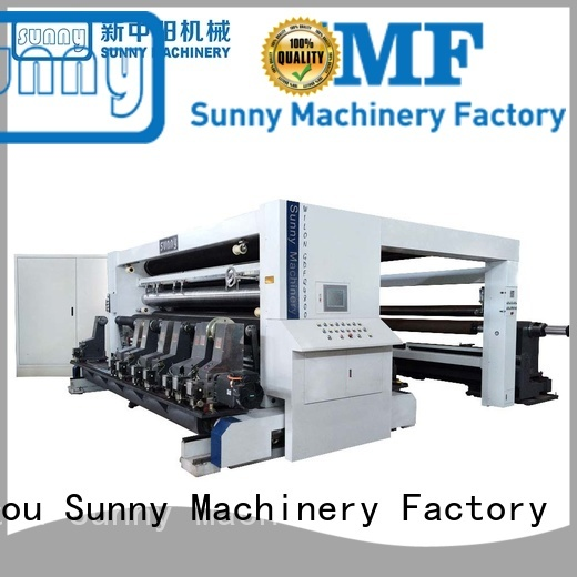 Sunny film slitting rewinding machine manufacturer for sale