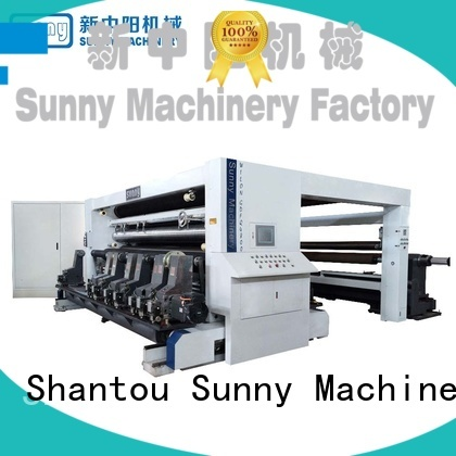 Sunny jumbo rewind slitting machines supplier bulk production