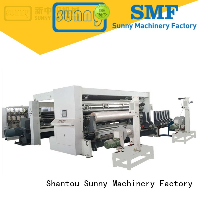 jumbo thermal paper slitting machine manufacturers supplier for factory Sunny