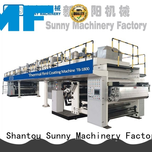 Sunny tb1800 extrusion coating lamination machine manufacturer for production