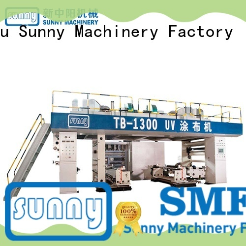 Sunny tdie extrusion coating machine customized for production
