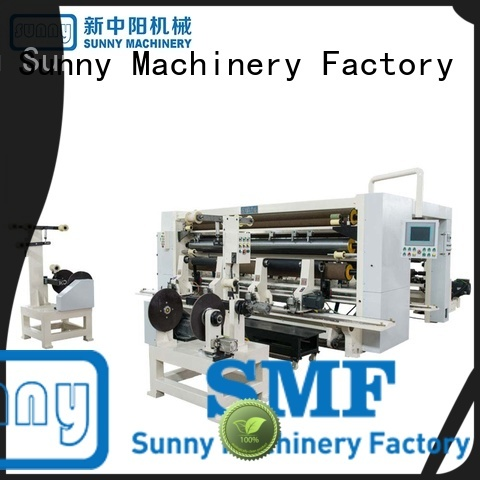 Sunny quality thermal paper slitting rewinding machine manufacturer bulk production