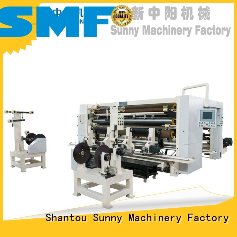 Sunny gantry rewind slitting machines supplier bulk production